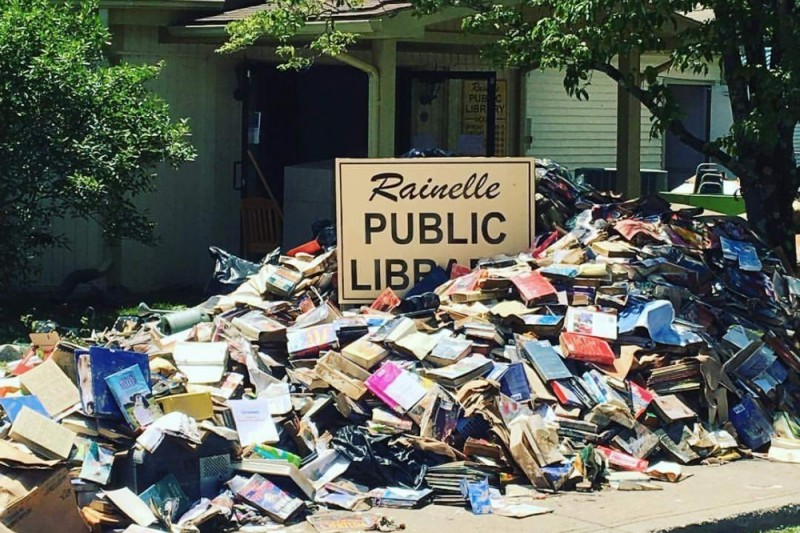 Rainelle Public Library Relief Fund