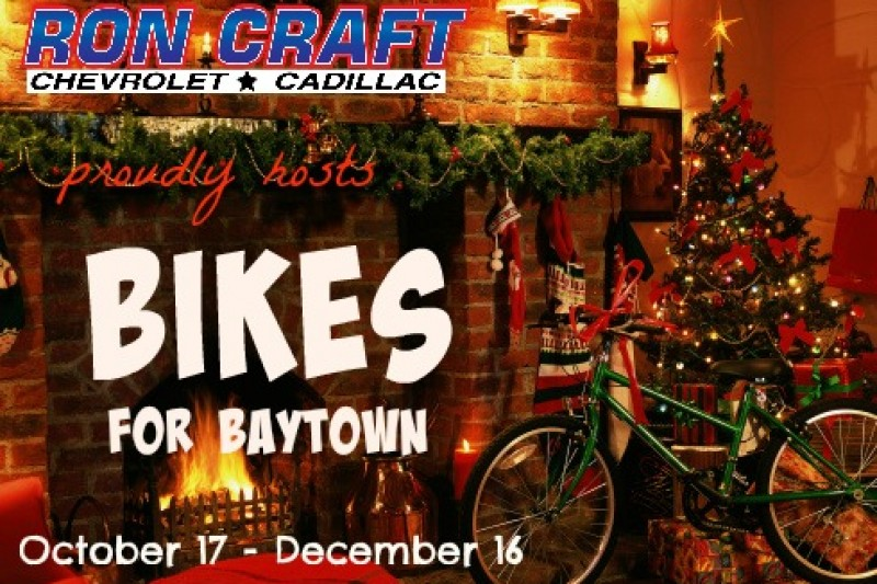 Fundraiser for natasha harvey by michele pool bikes for for Ron craft chevrolet baytown tx 77521
