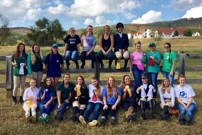 Fundraiser For Georgia College Equestrian Team By Lauren