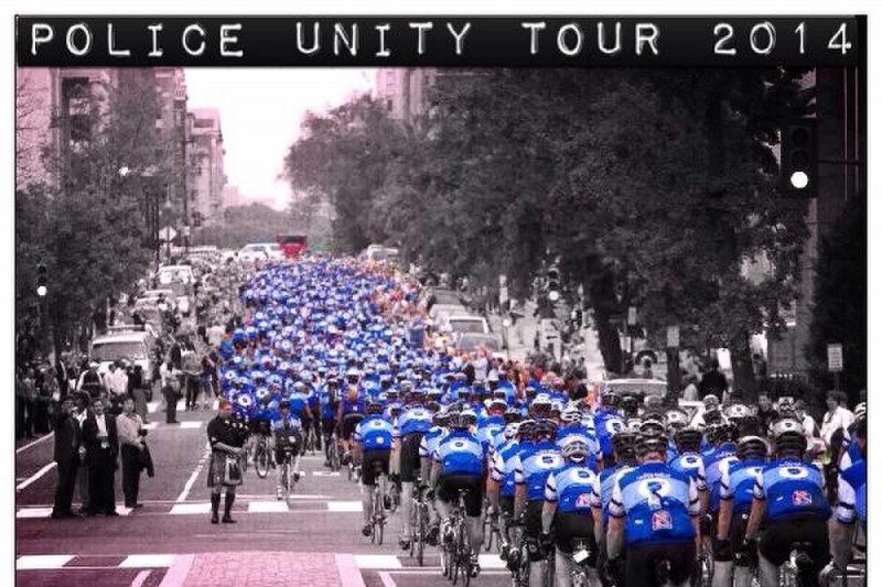 Fundraiser by reyne kacsuta police unity tour team for Police tours