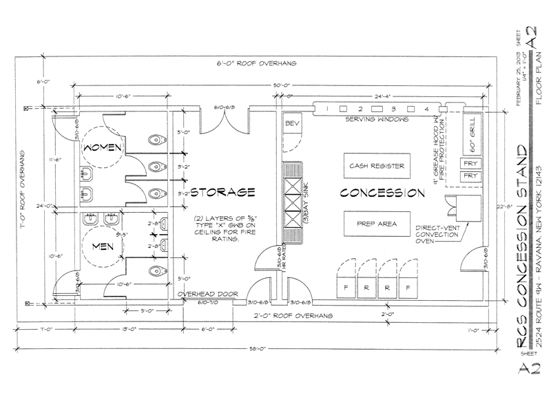 Concession Stand Floor Plans Mobile Kitchens For Sale