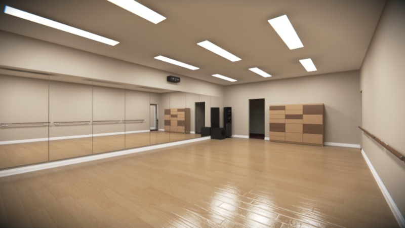 Beautiful Dance Studio Design Ideas Photos - Decorating Interior ...