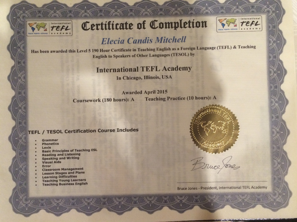 ittt tefl All ittt's tefl & tesol courses are internationally accredited and lifelong job assistance is provided to all ittt's graduates apply today home tesol courses.