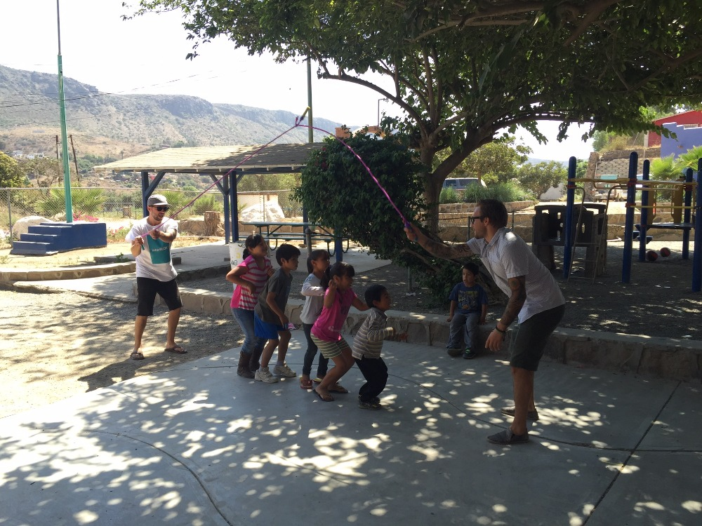 Interblok goes to mexico by alex miller gofundme for Door of faith orphanage