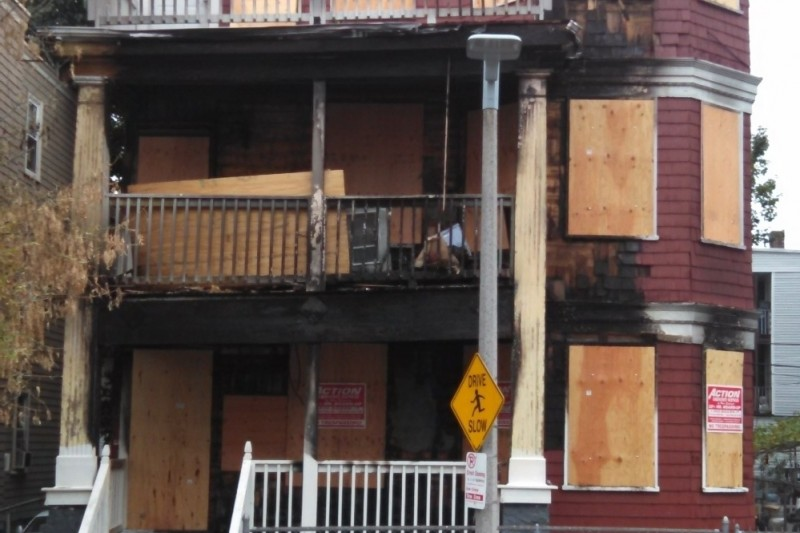 Ridgewood Street Fire Damage